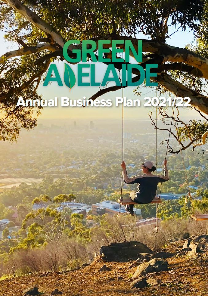 2021-22 Annual Business Plan - Green Adelaide