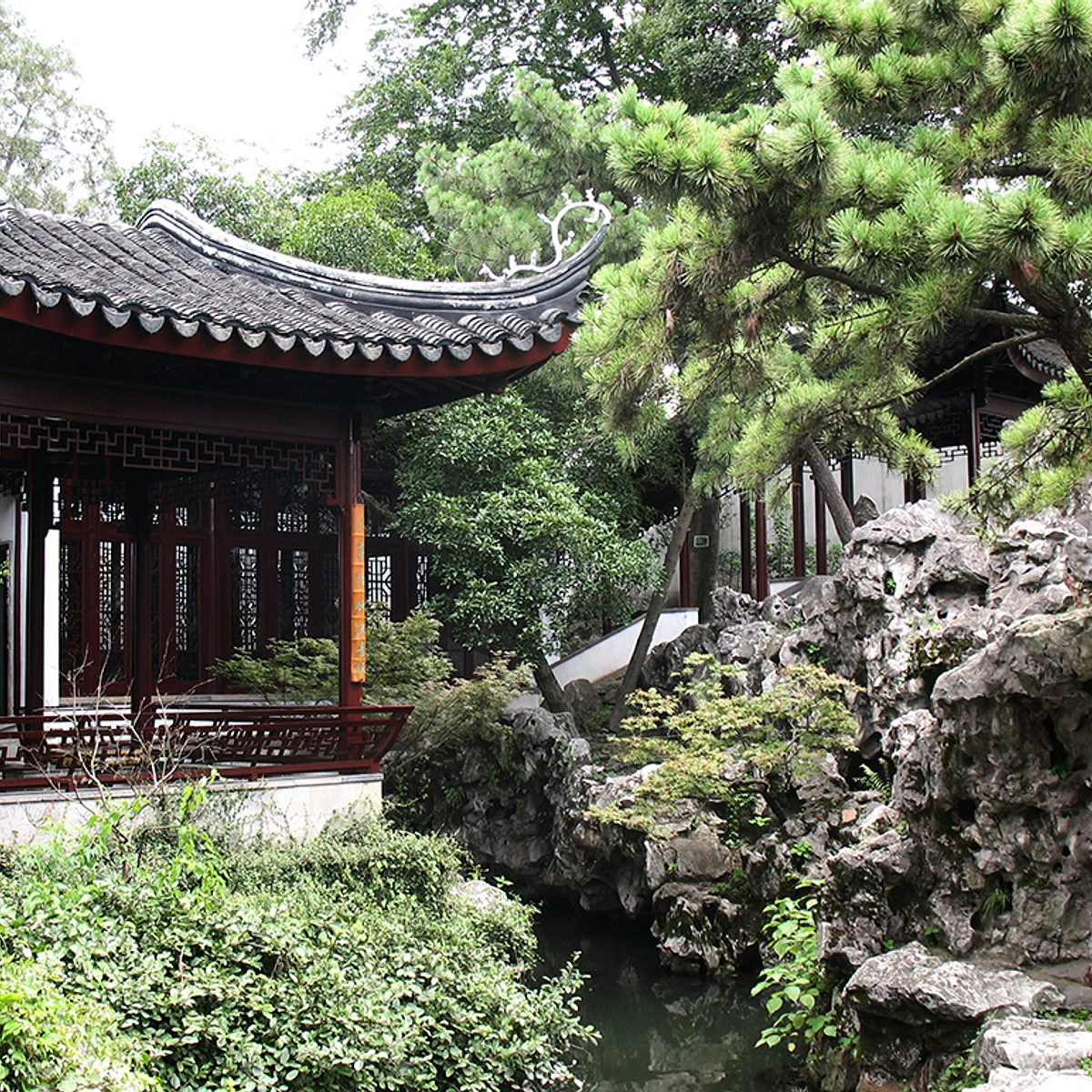 Chinese and Japanese Garden Design